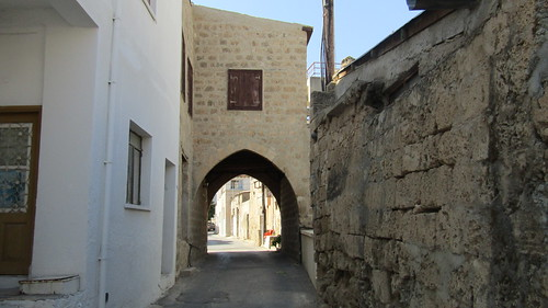 A little street in Famagusta