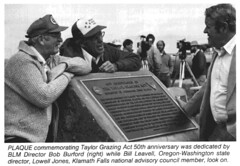 50th Anniversary of Taylor Grazing Act of 1934 (BLMOregon) Tags: blm bureauoflandmanagement taylor grazing act 1934 1884 historic range cattle rancher