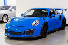 Porsche 911 GT3 RS (Kevin Shields Photography) Tags: porsche 911 gt3 rs blue blueazul voodoo black voodooblue german headlight highend luxury fast 991 porsche911 rare exotics exotic