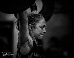 Ruth Horrell (Grant Grieve. Living without the internet 5 days a) Tags: crossfit wild south weightlifting olympic ruthhorrell gym monochrome bw sport woman