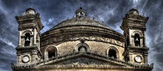 Rotunda Malta HDR