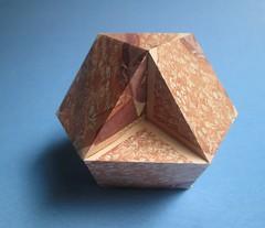 Cubohemioctahedron (georigami) Tags: origami papiroflexia paper papel