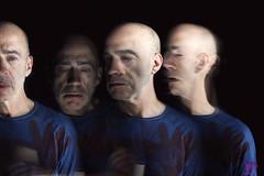 Disappear (Nokomisytb) Tags: light painting longue exposure portrait disappear strange neon
