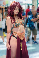 AX 2017 - 17 (rikioscamera) Tags: animeexpo conventionevents cosplay cosplayer costume event losangeles losangelesconventioncenter ax17 d750 flash lightroom nikon slaveleia slaveleiaoutfit starwars returnofthejedi animeexpo2017 ax2017