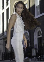 Ina Nica & Kim Innu London - Mayfair/Regent street (info@AntoineLphotos.com) Tags: fashion designer dress black beautiful white elegant sexy woman london londonlife inlondon thisislondon fashionlondonweek lfw street regentstreet regent mayfair day time