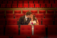 Just Married (A Great Capture) Tags: flowers dress tuxedo tux love kiss wife husband photography groom bride red seats wedding married justmarried agreatcapture agc wwwagreatcapturecom adjm ash2276 ashleylduffus ald mobilejay jamesmitchell on ontario canada canadian photographer northamerica summer summertime été 2017