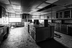 the lab. (stevenbley) Tags: abandoned urbanexploration urbanexploring urbex decay newjersey nj rust guerillahistorian sneak breeze grime decayed peelingpaint factory chemical medical industrial asbestos chemicals animaltesting urbandecay