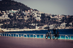 Just Nice (Antonio Buemi) Tags: 2017 biciclette bikes costaazzurra mare nizza sea promenade lungomare nice