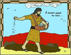 The Sower (traqair57) Tags: ordinary15a sower seeds sowingseeds parable gospel