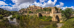 The View  of The Alcazar de Toledo from the Tagus river. (hippoking) Tags: chui daniel europe spain toledo ancient city destination destinations digital old panorama photography tourism travel