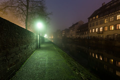 Hexagon 052 (Cycle the Ghost Round) Tags: strasbourg france night river alsace architecture europe petite canal old house town french german traditional little water travel reflection european historic evening strasburg christmas district petitefrance view building city history famous beautiful cityscape medieval timbered picturesque urban fog mist mysterious thick winter