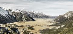 Mount Cook National Park - New Zealand (Max Pa.) Tags: new zealand neuseeland landscape landschaft natur nature aoraki mount cook nationalpark national park canon 5d 2470mm mountain mountains berge valley light village travel