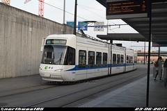 DSC_0621 (northwest85) Tags: verkehrsbetriebe zürich vbz 3074 bombardier cobra be 56 12 flughafen fracht flughafenstrasse kloten switzerland tram