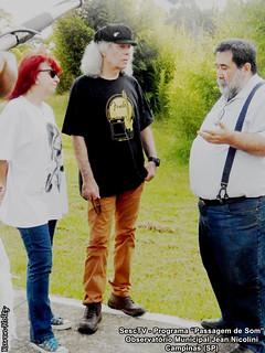 Suzi N. de Medeiros, Tony Babalu e Julio Lobo - Programa Passagem de Som (SescTV)