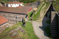 IMG_2951 (Grenserittet) Tags: festning halden jogging løp