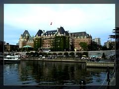 Empress Hotel Victoria BC (all4travel) Tags: canada hotel victoria empress vacation bc tour fairmont