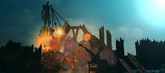 Downfall of Sauron (Gothicpolar) Tags: middle earth shadow mordor game pc scene scenery screenshot shot monolith studios lotr