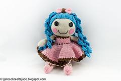 Amigurumi (El Gato sobre el Tejado) Tags: crochet amigurumi peluches plush manualidades crafts hechoamano handmade muñeca doll lalaloopsy