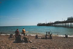 The Pier (Kravence.) Tags: brighton palacepier beach sun