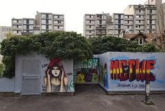 Kwim   •  Miaoutoo (HBA_JIJO) Tags: streetart urban vitry vitrysurseine art france artist hbajijo wall mur painting peinture twecrew kwim murale paris94 spray mural woman twe urbain girl miaou2 grafiti