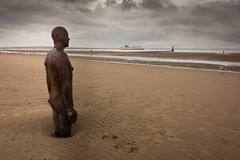 Watching the ships (paul_taberner_photography) Tags: liverpool anotherplace antonygormley
