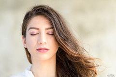 Raye~eyes closed (oshcan) Tags: model woman portrait girl actress beauty nikon d4s 85mm14
