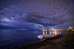 A storm is coming (KostasTsiaousis) Tags: sea seascape lighting boat storm thessaloniki kalamaria sony a7 samyang 14mm macedoniagreece makedonia timeless macedonian macédoine mazedonien μακεδονια