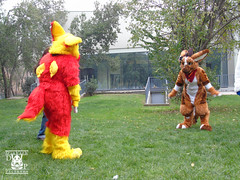 DSC00193 (Thanriu) Tags: fursuit chile meet junta furry santiago friends amigos canid monster avian ave canino monstruo badge angel dragon parrot artic wolf yerik dog
