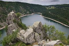 Les hauteurs du lac blanc (corentin.sch) Tags: lac blanc montagne vosges rochers paysage hauteur canon