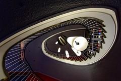 Hangin' around  (Flickr's Explore XVII.VII.) (Nikonphotography D750) Tags: saturdayforstairs nürnberg mittelfranken bayern nikon nikonphotography dürerstadt treppe treppenhaus spiralstaircase architektur patterns farben colors lamps lampen nikond750 nuremberg