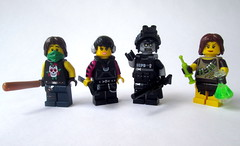 ZomBarf (slight.of.brick) Tags: lego minifig zombie apocalypse outbreak survivor walking dead figbarf