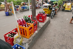 gasoline for sale (DOLCEVITALUX) Tags: gasoline panasoniclumixlx100 lumixlx100 photojorno photojournalism philippines tricycleterminals people