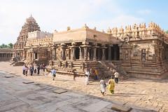 Late afternoon at Airavatesvara Temple (nekineko) Tags: airevatesvara temple darasuram kumbakonam southindia tamilnadu india southasia asia dravidian chola rajaraja unescoworldheritagesite