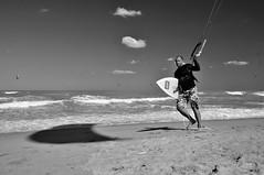 DSC_7829 (maurizio.s.) Tags: mare spiaggia surf sportivo biancoenero nikon nikond300 nikon18135 sanbenedettodeltronto portodascoli luce ombra onde cielo nuvole clouds sky waves light blackandwhite black white grey beach sea