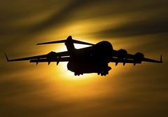 Boeing C-17A Globemaster III 00-0175 (urkyurky) Tags: c17a c17 c17globemasteriii globemaster 62ndaw 62aw mcchordafb usaf sunset cargo transport mildenhall
