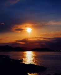 Sunset (carydef) Tags: 臺灣 臺北 東北角 正片 kodakprofessionalektachromefilme100vs smc105mmf24 pentax67ii 攝影發燒友