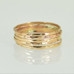 **Free Domestic Ship (alaridesign) Tags: free domestic shipping for all orders over 50 use coupon code shipfree50 super thin bronze stacking rings these 550 each choose number you wan alari