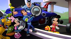 Mickey: Aventuras sobre Ruedas (hernánpatriciovegaberardi (1)) Tags: mickey roaster racers aventuras sobre ruedas disney