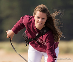 My Daughter (Outdoorjive) Tags: other stevepalmerphoto ss eastanglia seascapes photographic office summer flikr event lounge photo places events uk family horse norfolk pink2 people su northnorfolkdistrict england unitedkingdom gb