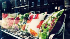 20170717_181247-window shopping cushions-03 (suzyhazelwood) Tags: windows windowshopping window shop shopping shops samsung s4mini mobile phone photography cell smartphone creativecommons cushions pretty display