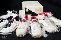 1986/1987 OG Jordan II Set. (dunksrnice) Tags: 2017 wwwdunksrnicecom dunksrnicecom dunksrnice rolotanedojr rolo tanedo jr rtanedojr air jordan ii og 1987 1986