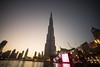 Burj Khalifa at sunset (tesKing (Italy)) Tags: abudhabi burjkhalifa sunset dubai emiratiarabi uae emiratiarabiuniti ae