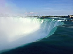 Niagara Falls (weisen87) Tags: niagarafalls waterfall beautyinnature niagara falls cloudsky landscape iphoneography longexposure