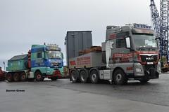 ALLELYS AND MCINTOSH MAN TGX  8X4 (denzil31) Tags: allelys heavyhaulage man tgx 8x4 t900 ahh mcintosh heavy logistics buckie harbour stgocat3 4 mtl