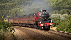 Galatea (hanley27) Tags: galatea steam locomotive f4 l howshamgates canon70200mm