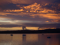 Today's dawn (ExeDave) Tags: p7220159 exe estuary starcross teignbridge devon sw england coastal tidal hightide river landscape dawn sunrise sssi spa natura natura2000 n2k ramsarsite july 2017 clouds platinumheartaward