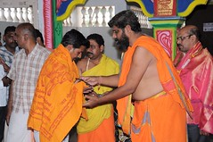 A Longest Duration Audio DVD SRI GURUSAMHITAA, Sung By Chinmaya M.Rao Releasing Event Photos (115)