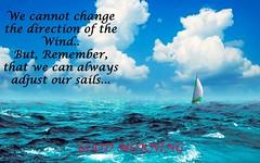 Morning motivational Quote (profitaim) Tags: winddirection profitaim morningmotivation inspirationalquote