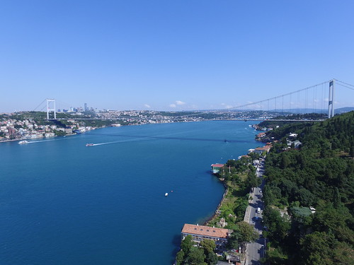 Bosphorus from the air