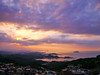 Higher than Sunset (Jimweaver) Tags: sunset clouds cloudy purple jiufen village township mountain sea boat ship ocean taiwan oldfasioned 九份 夕陽 日落 夕照 海洋 船 山 雲 台灣 老街 懷舊 asia
